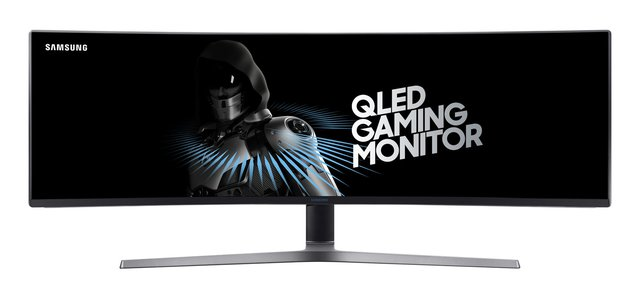 C49HG90DMU 124,20 cm (49 Zoll) Curved Gaming Monitor (3840 x 1080 Pixel, Ultra Wide 32:9 Format, 144hz, 1ms) mattschwarz