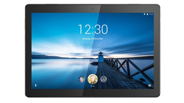 Tab M10 25,5 cm (10,1 Zoll, 1280x800, HD, WideView, Touch) Tablet-PC (Quad-Core, 2GB RAM, 16GB eMCP, Wi-Fi, Android 10) schwarz