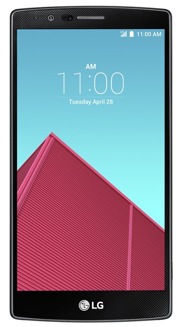LG G4 Smartphone (5,5 Zoll (14 cm) Touch-Display, 32 GB Speicher, Android 5.1) schwarze Lederversion