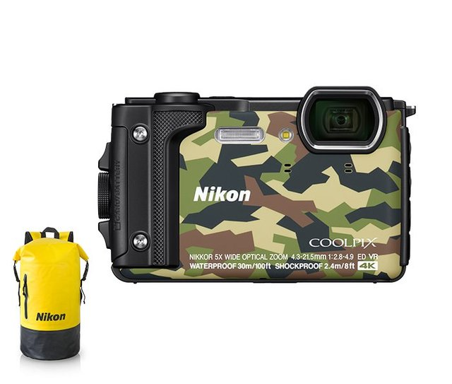 Digitalkamera COOLPIX W300 Outdoor Kit, camouflage - 1584108