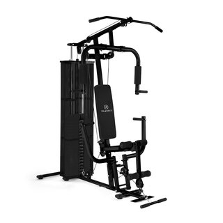 Ultimate Gym 3000 Fitness-Station schwarz