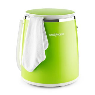 Ecowash-Pico Mini-Waschmaschine Schleuderfunktion 3,5 kg 380W grün