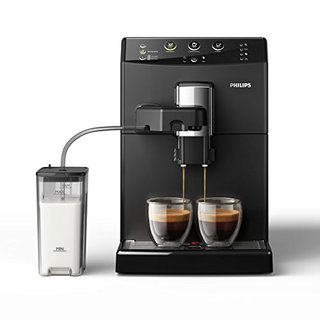 HD8829/01 3000 Serie Kaffeevollautomat, Cappuccino auf Knopfdruck, schwarz