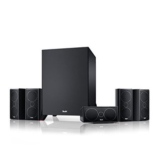 Consono 35 Mk3 Power Edition 5.1-Set Schwarz Heimkino Lautsprecher 5.1 Soundanlage Kino Raumklang Surround Subwoofer Movie High-End HiFi